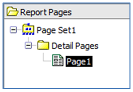 Report Studio Report Multiple Outputs