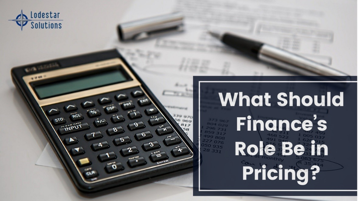 What Should Finances Role Be In Pricing