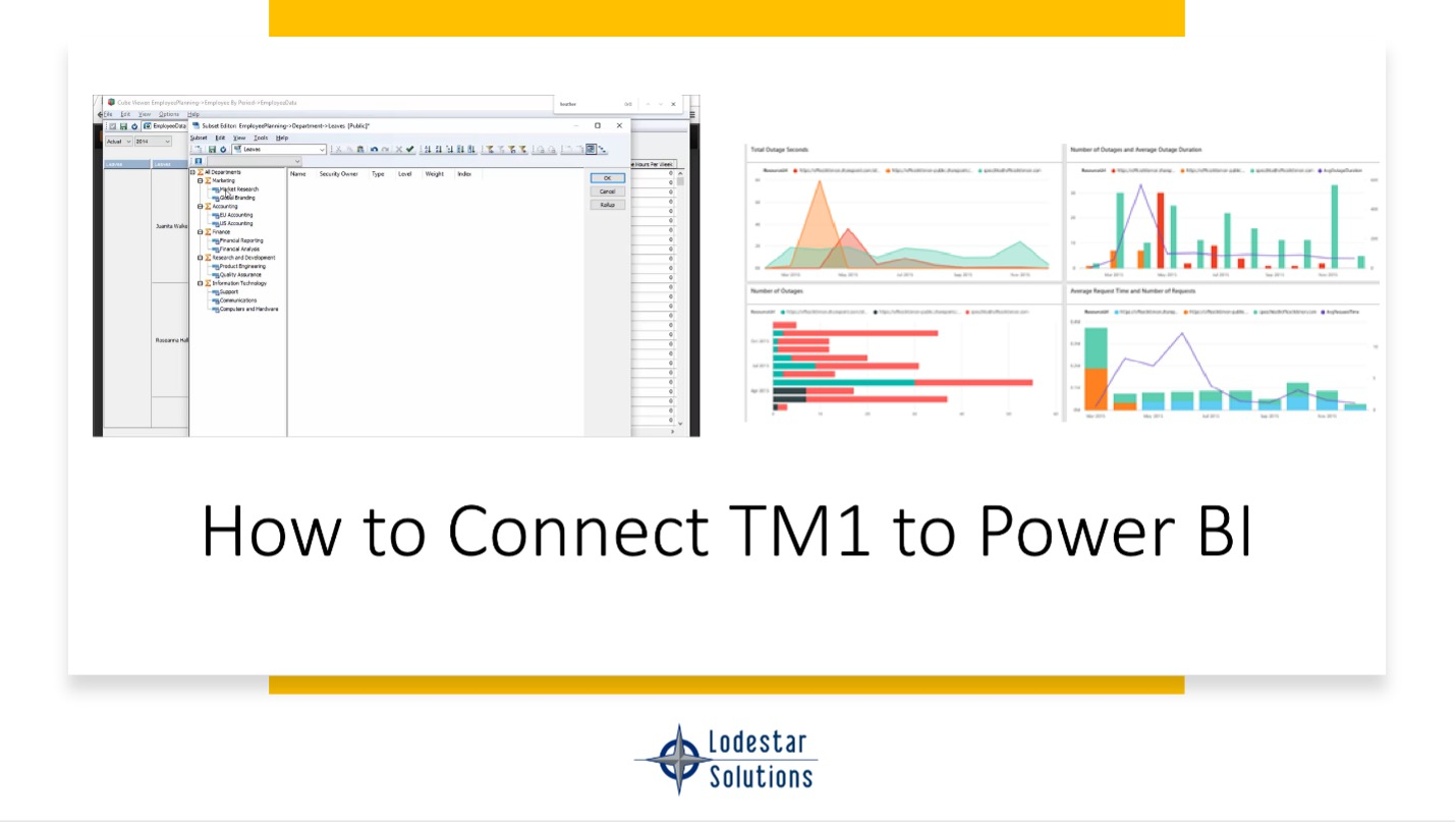 How to Connect TM1 to Power BI