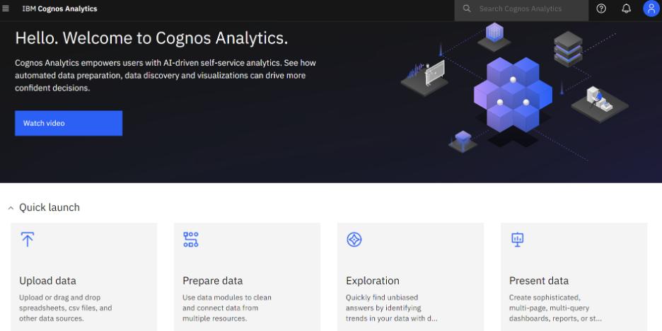What's New in Cognos Analytics 11.2